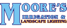 Moore's Irrigation and Landscape Lighting Omaha logo