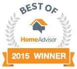 Home Advisor Best of 2015 award winner logo
