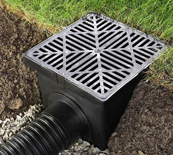 French Drain for property drainage.