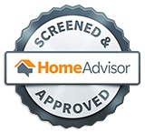 Home advisor screened and Approved logo