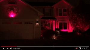 house lighting using Husker Outdoor Lighting