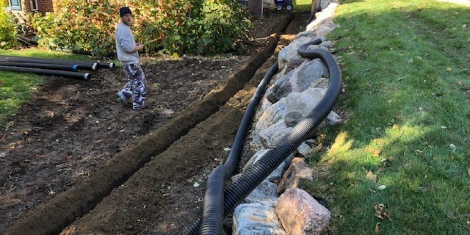 Neighbor Drainage Added